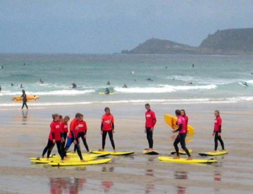 Escuela de surf Llanes – Cursos