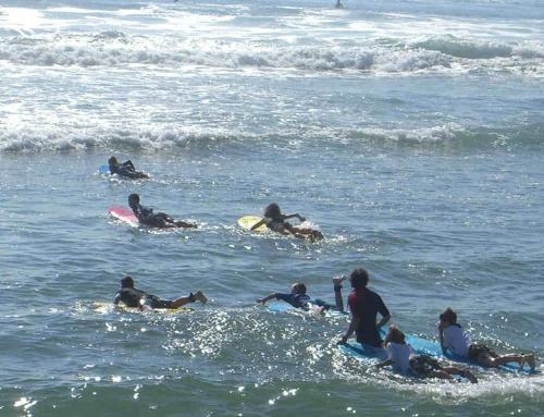Escuela de surf Llanes – Bautismo