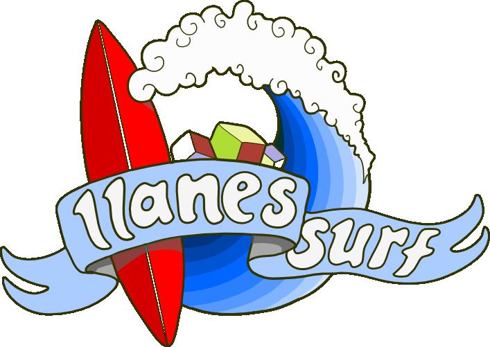 logo escuela de surf llanes