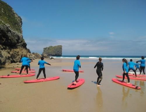 Campamento surf y multiaventura Llanes 2018