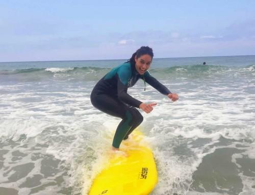 clase surf iniciación sábado 6 julio 19