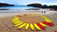 clase de surf escuela llanes