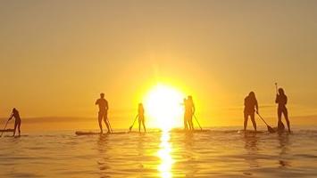 clases de paddle surf en llanes